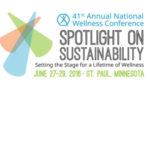 National Wellness Conference, Closing Keynote Speaker, June 2016